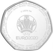 20 Cents - Elizabeth II (UEFA Euro 2020) – reverse