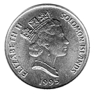20 Cents - Elizabeth II (FAO) – obverse