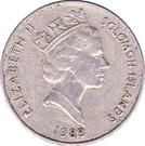 10 Cents - Elizabeth II (3rd portrait; non-magnetic) – obverse