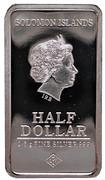 ½ Dollar - Elizabeth II (New York) – obverse