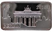 ½ Dollar - Elizabeth II (Berlin) – reverse