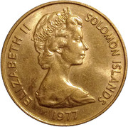 20 Cents - Elizabeth II (2nd portrait) – obverse