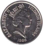 5 Cents - Elizabeth II (3rd portrait; non-magnetic) – obverse