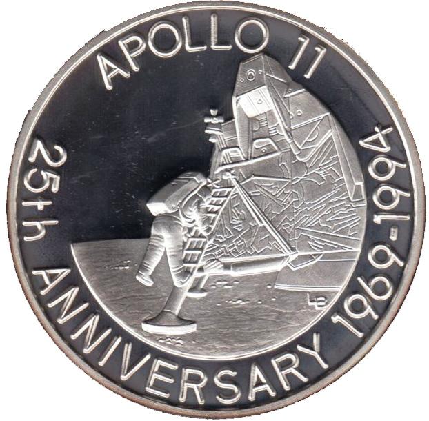 apollo 11 25th anniversary
