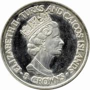 5 Crowns - Elizabeth II (World Cup Winners - England) – obverse