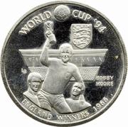 5 Crowns - Elizabeth II (World Cup Winners - England) – reverse