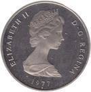 1 Crown - Elizabeth II (2nd portrait) – obverse