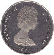 1 Crown - Elizabeth II (2nd portrait) – obverse
