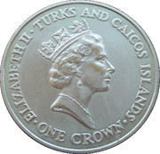 1 Crown - Elizabeth II (The 90th Birthday of the Queen Mother) – obverse