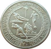 5 Crowns - Elizabeth II (1992 Olympic Games) – reverse