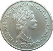 5 Crowns - Elizabeth II (World Cup winners - Uruguay) – obverse