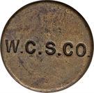 1 Penny (West Caicos Sisal Company) – reverse