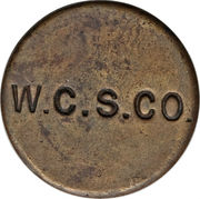 1 Penny (West Caicos Sisal Company) – reverse