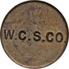 3 Pence (West Caicos Sisal Company) – reverse