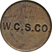 3 Pence (West Caicos Sisal Company) – reverse
