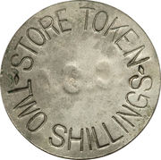 2 Shillings (West Caicos Sisal Company) – obverse