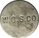 2 Shillings (West Caicos Sisal Company) – reverse