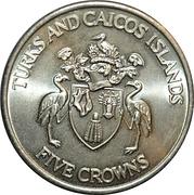 5 Crowns - Elizabeth II (1992 Olympic Games) – obverse