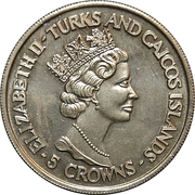 5 Crowns (World Cup winners - West Germany) – obverse