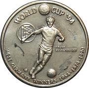 5 Crowns (World Cup winners - West Germany) – reverse