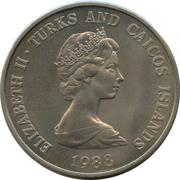 1 Crown - Elizabeth II (WWF) – obverse