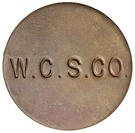 6 Pence (West Caicos Sisal Company) – reverse