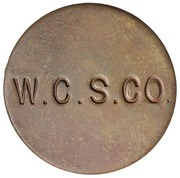 6 Pence (West Caicos Sisal Company) – reverse