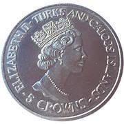 5 Crowns - Elizabeth II (World Cup winners - Brazil) – obverse