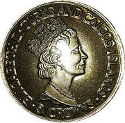 5 Crowns - Elizabeth II (Windsor Castle) – obverse