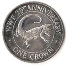 1 Crown - Elizabeth II (WWF) – reverse