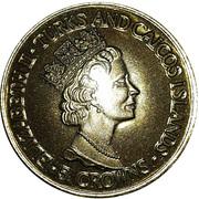 5 Crowns - Elizabeth II (George VI) – obverse