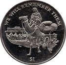 1 Dollar - Elizabeth II (Lawrence of Arabia) – reverse