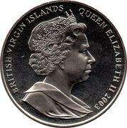 """1 Dollar - Elizabeth II (""""Gothic"""") – obverse"""