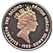 1 Cent - Elizabeth II (Hawksbill Turtle) – obverse