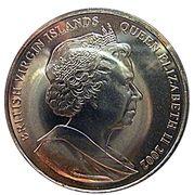 1 Dollar - Elizabeth II (Golden Jubilee, Queen on Horse) – obverse