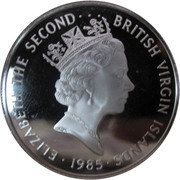 20 Dollars - Elizabeth II (Gold Doubloon) -  obverse