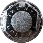 20 Dollars - Elizabeth II (Gold Doubloon) -  reverse