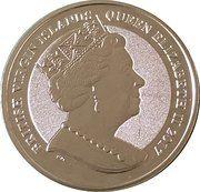 1 Dollar - Elizabeth II (100th Anniversary of the Birth of John F. Kennedy) – obverse