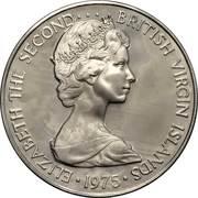 50 Cents -  Elizabeth II (2nd portrait; Set Issue) – obverse