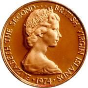 1 Cent - Elizabeth II (2nd portrait; Set Issue) – obverse