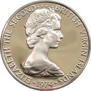 25 Cents - Elizabeth II (2nd portrait; Set Issue) – obverse