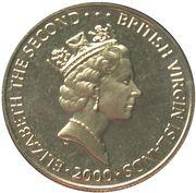 1 Dollar - Elizabeth II (Queen Mother's 100th Birthday) – obverse