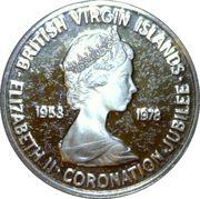 1 Cent - Elizabeth II (Coronation Jubilee) – obverse