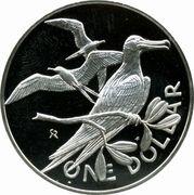 1 Dollar - Elizabeth II (2nd portrait; Set Issue) – reverse