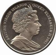 1 Dollar - Elizabeth II (Sir Walter Raleigh) – obverse