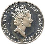 1 Dollar - Elizabeth II (Butterfly Fish ; Silver Proof Issue) – obverse
