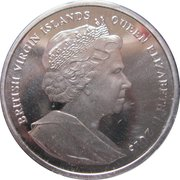 1 Dollar - Elizabeth II (The Duchess of Cambridge; Coloured) -  obverse