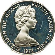 1 Dollar - Elizabeth II (2nd portrait; Silver Proof Issue) – obverse