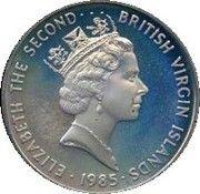 25 Cents - Elizabeth II (Blue Marlin) – obverse