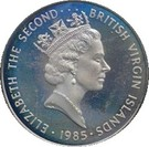 50 Cents - Elizabeth II (Dolphin Fish) – obverse